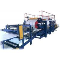 Quality Eps / Rock Wool Sandwich Wall Panel Roll Forming Production Line / Machine for sale