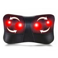 Quality Shiatsu Back and Neck Massager Electric Massage Pillow with Heating for sale