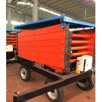 Buy High Working Efficiency Movable Hydraulic Scissor Lift Table,Working Platform at wholesale prices