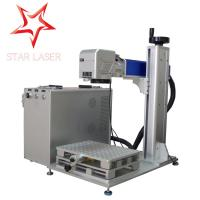 Quality Animal Ear Tag Mini Laser Marker , Bulb Cable Automatic Laser Marking Machine for sale
