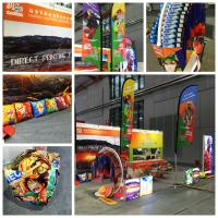 230gsm diaplay fabirc, roll up fabric, L-frame banner fabric, direct printing