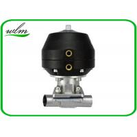 Quality Hygiene Degree Straight  Sanitary Diaphragm Valve For Dairy Beer Chemical for sale
