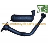 China Bride Scooter Muffler Gas Scooter Spare Parts for PGT103 , motorcycle exhaust pipes on sale