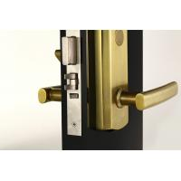 Buy PVD Electronic Security Door Locks / Keyless Entry Door Locks Heavy Duty Handle at wholesale prices