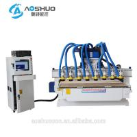 Buy cheap Cnc Router Rotary Axis CNC Wood Carving Machine 2.2KW 6 Heads Indian God Statue from wholesalers