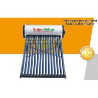 Quality Ground Mounted Evacuated Tube Solar Hot Water Heater For Private Residential Use for sale