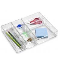 Quality Desktop Acrylic Drawers Organizer With Beautiful Shape for sale