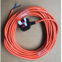 Quality BS UK safe fuse plug with long power cord cable for outdoor use for sale