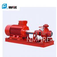 Quality Ul Listed End Suction Pump , Fire Pump 100 Gpm@75psi 50hz Motor Driver for sale