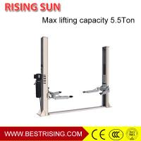 China Car workshop used manual release 2 post hydraulic car lift on sale