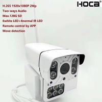 Quality New 1080P 2Mp Outdoor water-proof P2P Wireless IP camera built-in micro and speaker SD card Two ways voice HD WIFI Camer for sale