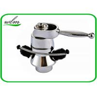 Quality Butt Weld Stainless Steel Sample Valve Sanitary Smooth Surface , Manual Joystick Operation for sale