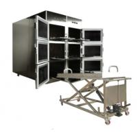 Quality ROUNDFIN morgue six body mortuary refrigerator/6 corpse morgue freezer for sale for sale