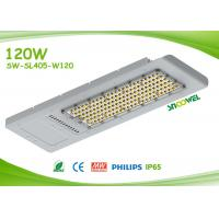 Quality Panel Outdoor Led Street Light 120w IP65 With Meanwell Driver , LED Sidewalk Lighting for sale