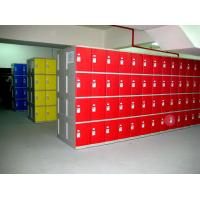 Quality Swimming Pool Green Shoe Storage Locker smart ABS locker easy installation for sale