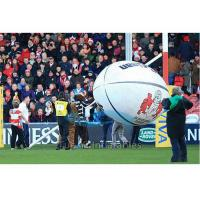 Quality Helium Filled Advertising Balloon / Sport Sponsor Balloon With Logo Printing for sale