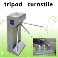 Quality Stainless steel tripod turnstile/ security turnstile gate/ access control automatic barrier gate for sale