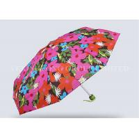 Quality Anniversary Gift Lady / Girls 5 Fold Umbrella Mini Pocket Umbrella Sun Protection for sale