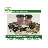 Quality Low Carb / Low Fat Coffee Meal Replacement Shakes For Weight Loss OEM for sale