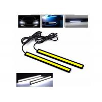 Buy Shockproof DC 24V LED COB DRL Daytime LED Running Lights With High / Low Voltage at wholesale prices