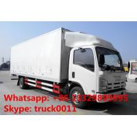 Quality China high quality and best price ISUZU 4*2 40,000 day old chicks transported vehicvle for sale, ISUZU duck baby truck for sale