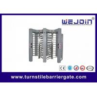 Quality Full Height  Turnstile for Pedestrian Passing With RS485 Communication Interface for sale