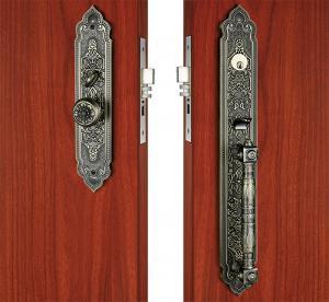 Buy Kitchen Bathroom Entry Door Handlesets Sliding Exterior Door Knobs at wholesale prices