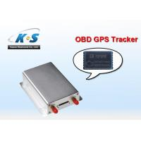 Quality Automotive Sim Card Small OBD2 / OBD GPS Tracker With Si RF III chip for sale