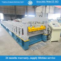 Quality 40mm Wall Plate Hydraulic Press Roof Panel Roll Forming Machine Weight About 10Tons for sale