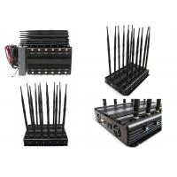 Quality Long  Time Working 12 Bands 12 Antennas Cell Phone Signal Jammer Jam GSM 2G 3G 4G for sale