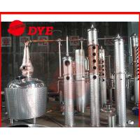 Quality 500Gal Small Alcohol Distiller machine , Vodka Distilling Equipment CE for sale