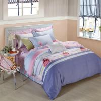 Quality King Size 6 Piece Home Coral Bedding Sets Silk Material Most Comfortable for sale