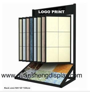 Quality Unique Wood Flooring Display Racks with Angle Shelving,STONE DISPLAY , STONE DISPLAY RACK for sale