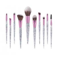 Buy cheap Eyeshadow Face Contour Eyelash Eye Makeup Brush Set Plastic Handle Material from wholesalers