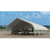 Quality Giant 50m X 60m Airplane Hangar Tents Aluminium Frame Pcv Fabric for sale