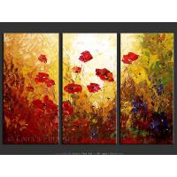 Quality art flower art painting interior wall picture for sale