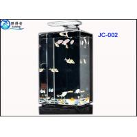 Buy Creative Eco Mini Acrylic Aquarium Fish Tank / Ornamental Fish Tanks 5.31L - 13.25L at wholesale prices
