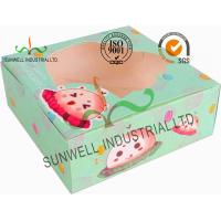 Quality Disposable Cardboard Food Packaging Boxes , Personalised Cardboard Takeaway Boxes for sale
