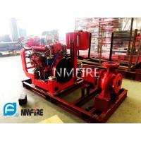 Quality Ul Non - Listed End Suction Fire Pump 750 Gpm@61m With NM Fire Diesel Engine for sale