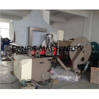 Quality Touch Screen Spiral Duct Forming Machine Without Noise , Smooth Tube End for sale