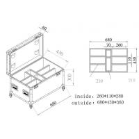 Quality Moving Aluminum Tool Cases  for sale