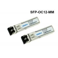 Quality SFP-OC12-MM SFP Fiber Module 622Mb/s Datarate Cisco Single Mode Fiber SFP for sale