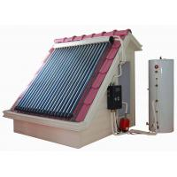 Quality Split high pressure solar water heating system with heat pipe solar thermal collectors , hot water storage tank and kits for sale