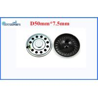 Quality 50mm Nominal Power 0.8W With 150Hz 8 Ohm Mini Speaker For Top box for sale