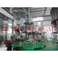 Quality 750ML Bottle Wine Automatic Washing Filling Capping Machine For Vodka / Vhisky for sale