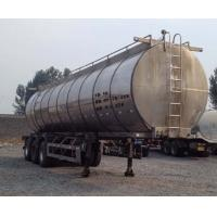 Quality CLWChun strong 12.6 m 32 t 3-axis milk transport trailer JQ9400GNY0086-186727303 for sale