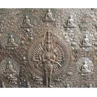 Quality 2.5m Height Bronze Relief Sculpture Ancient Casting Buddha For Indoor Decoration for sale