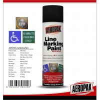 Buy Weather Proof Road Marking Spray Paint For Concrete / Asphalt / Glass at wholesale prices