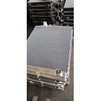 Quality Customized Aluminum finned tube heat exchanger for water cooler radiator for sale