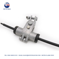 Quality Galvanized Steel Aluminum ADSS Preformed Armor Rod For 6-20mm Cable for sale
